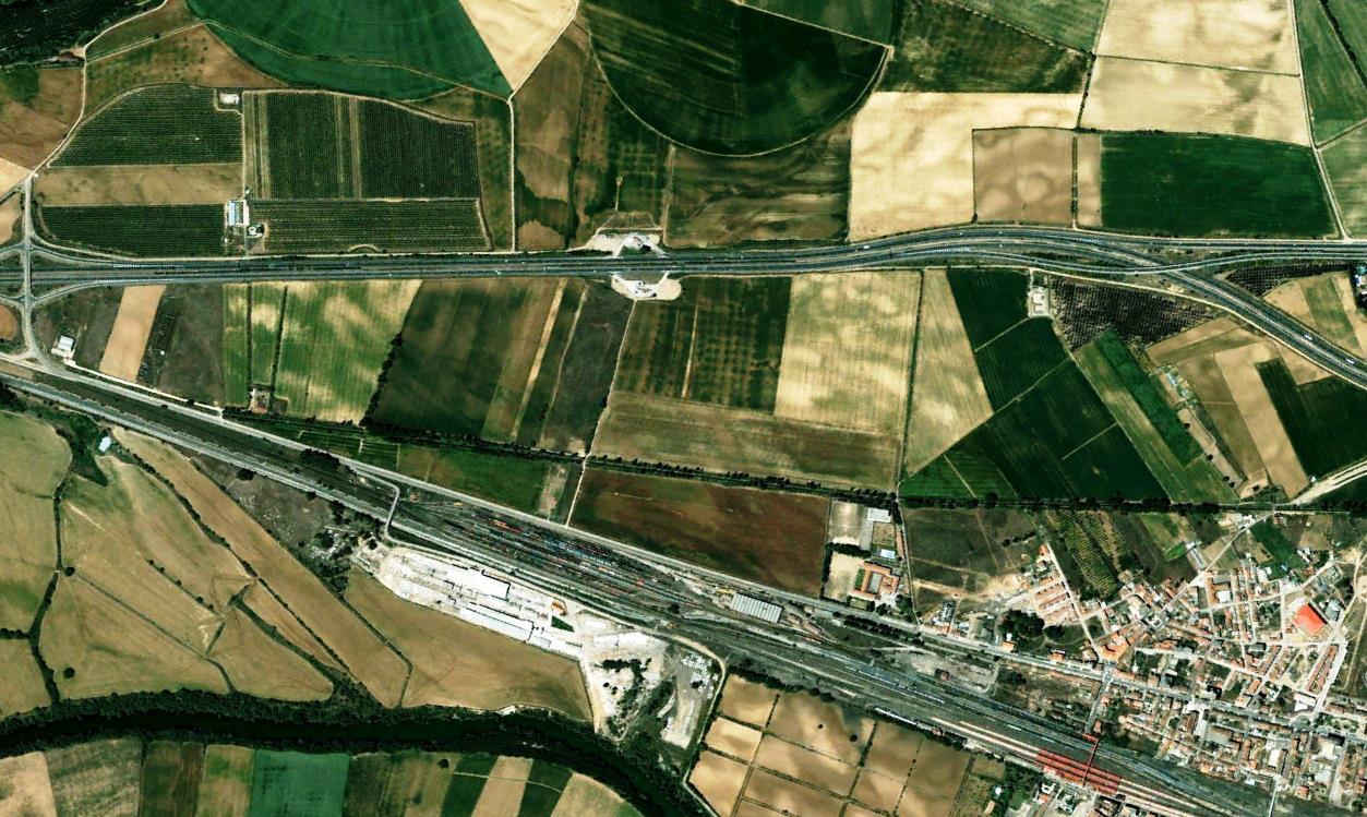 antes, urbanismo, foto aérea, desastre, urbanístico, planeamiento, urbano, construcción,Venta de Baños, Palencia