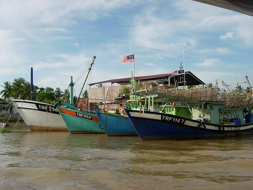 Fishing boats, Terengganu River