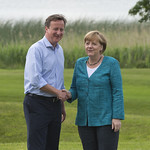 PM welcomes Chancellor Merkel