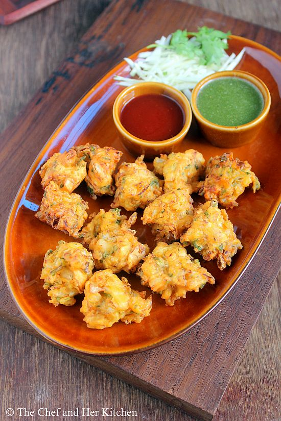 cabbage pakora