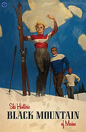 Black Mt of Maine poster