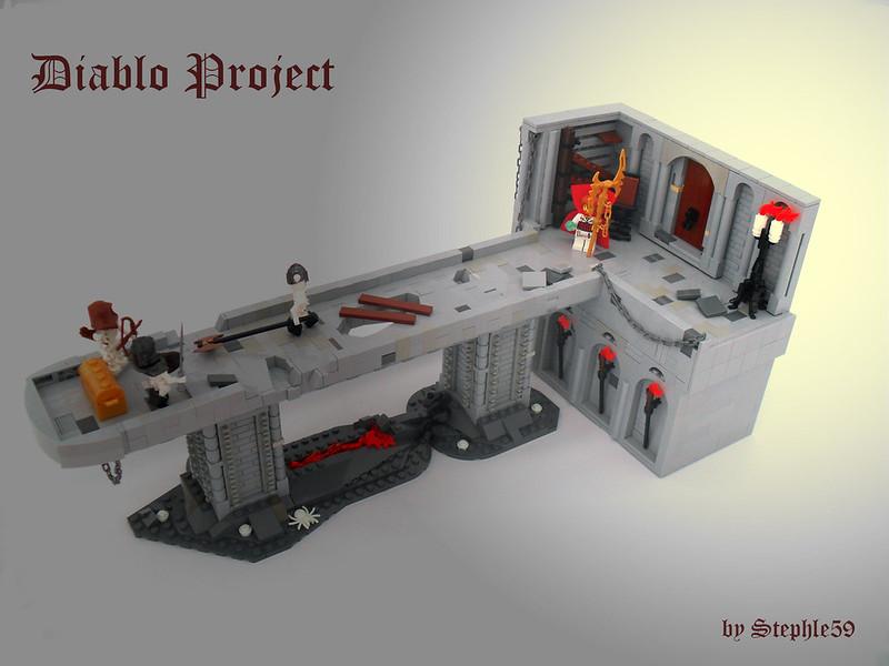 Lego [Custom - Diablo 3: Reaper of Souls] Grim Reaper of Souls ...