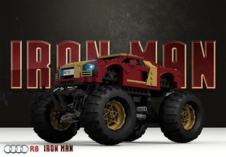 Iron Man - Audi R8 - Monster Truck