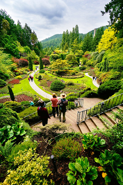 The Sunken Garden In Butchart Gardens Victoria Flickr Photo Sharing