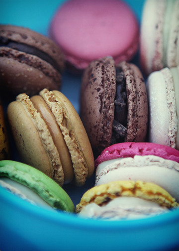 Macarons from Paris
