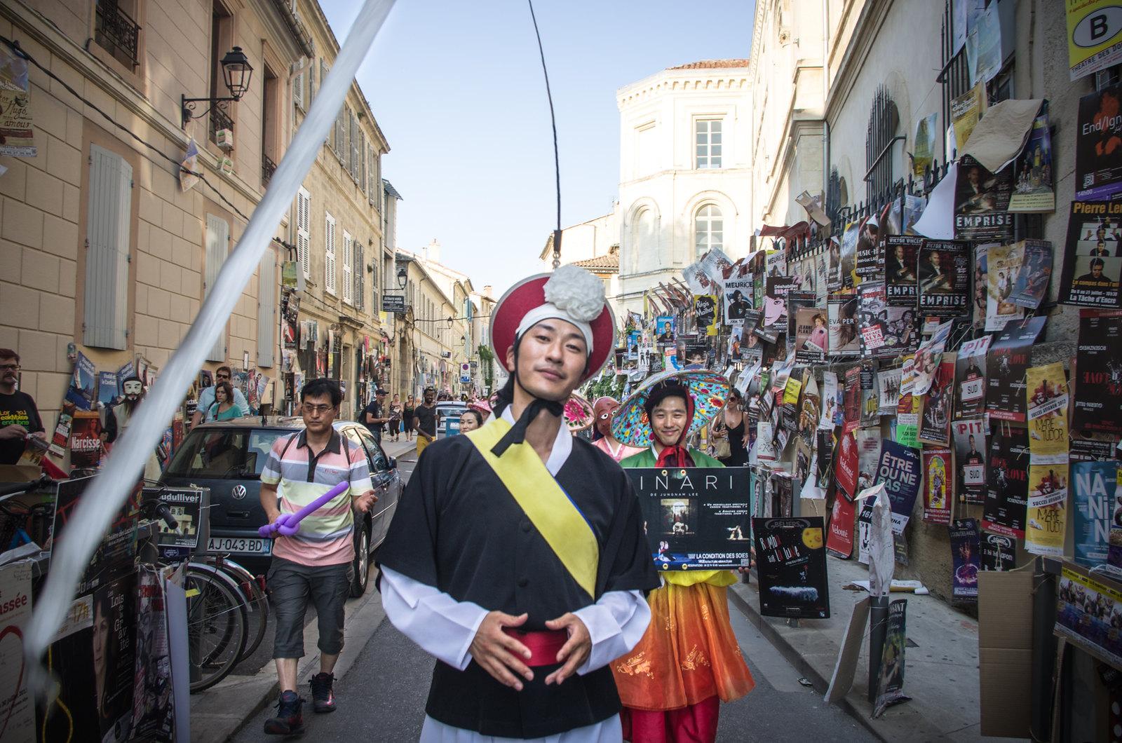Festival d'Avignon - Parade
