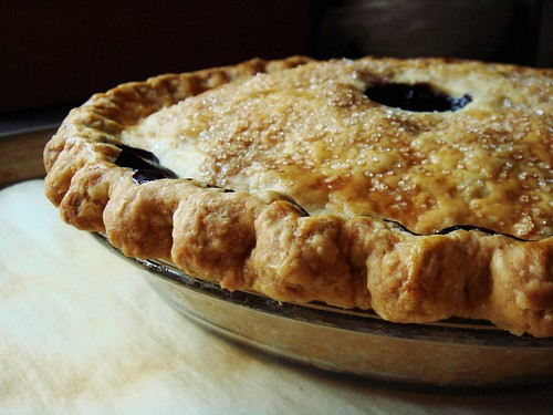 Wild blueberry pie also made the cut. These are my annual wild ...