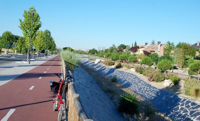 Carril Bici en Parque de las Minas