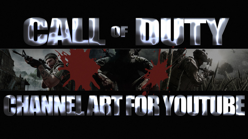 Call Of Duty Channel Art Template For Youtube A Photo On Flickriver
