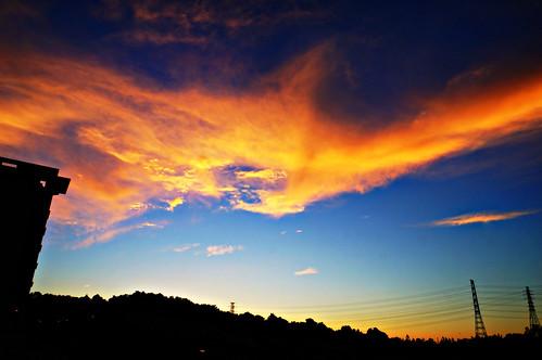 sunset sky phoenix