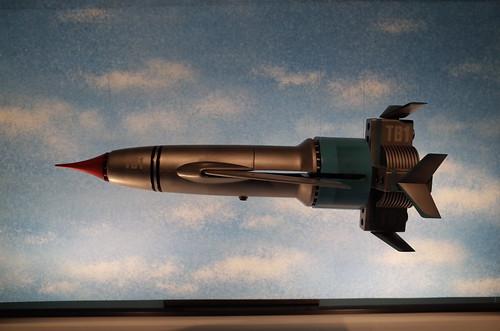 Thunderbird #1 background roller system 01Thunderbird Expo 2013 Tokyo