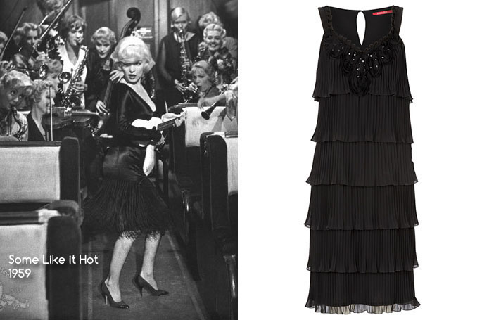 Some Like It Hot - Jacques Vert Beaded Dress, Black