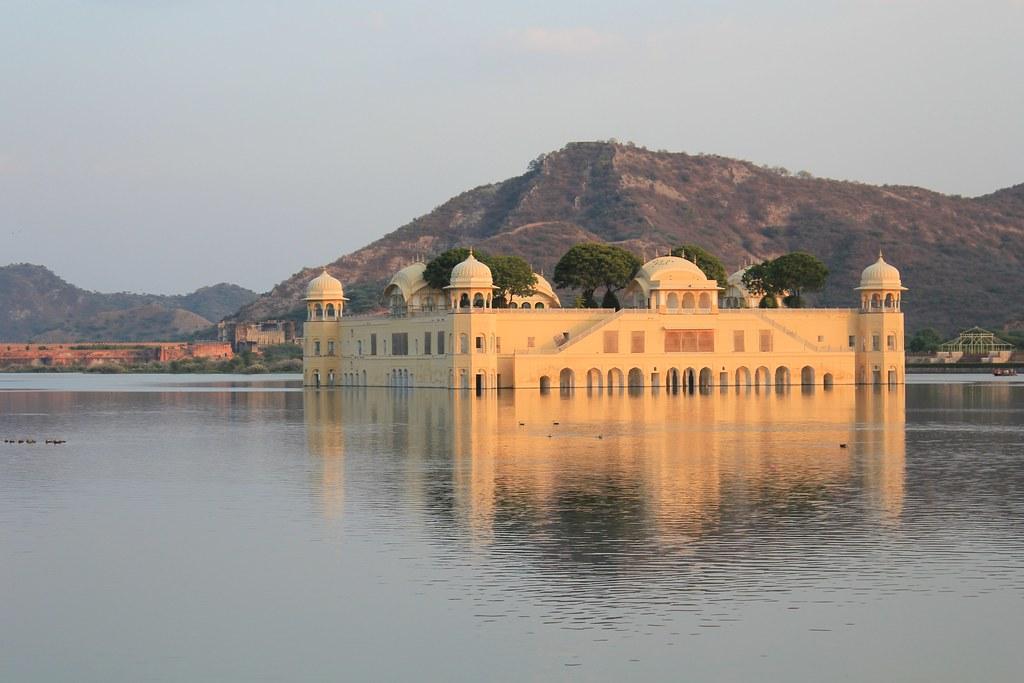 Jaipur, Jal Mahal - 50 de los lugares más bellos de Asia