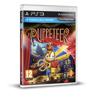 Puppeteer Cover PS3