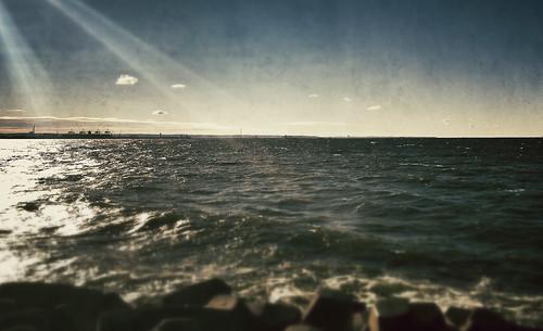 sea water waves ska poland balticsea baltic photostream woda rayoflight gdańsk bałtyk sobieszewo mattberger pomorskie ptasiraj