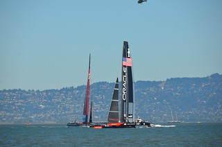 Oracle Team USA beats New Zealand in America's Cup race 16