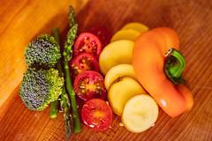 Grönsaker är bra för bröstmjölksproduktionen