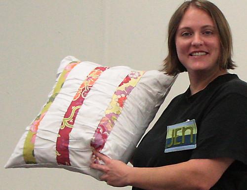 Jen M's pillow