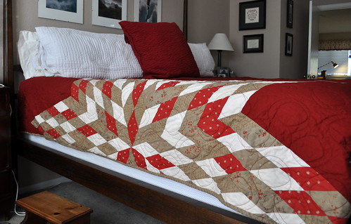 Cropped Lone Star Quilt
