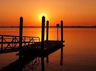 Fishing Dock Sunrise