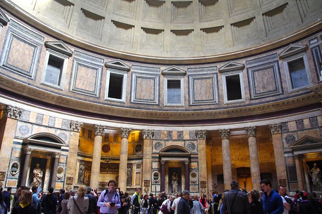 The Pantheon: inside