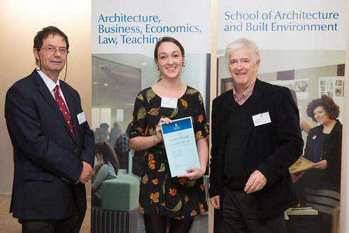 2013 Winner: Louisa Rebellato - Presented by Steve Grieve (State Chapter President-AIA) and Prof George Zillante (Head of School))