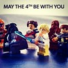 "May the fourth be with you. Happy ""Star Wars"" day ;-)"