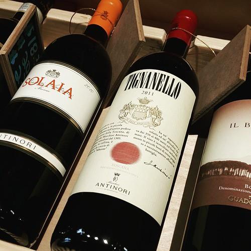 Checking out some #wine  today ☺... #tignanello  ☺