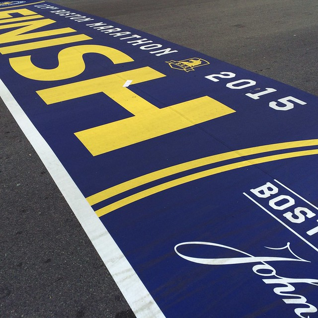 Happy Patriot's Day, and good luck to everyone in the #BostonMarathon! We're rooting for you. #bostonstrong