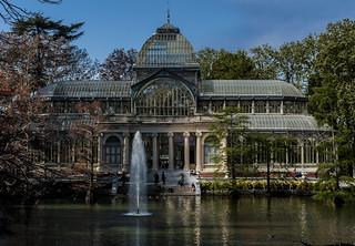Palacio de Cristal 의 이미지.