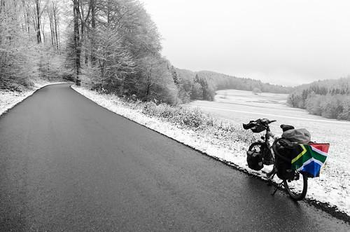 Snow in the Sundgau