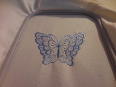 Finished Blue Butterfly