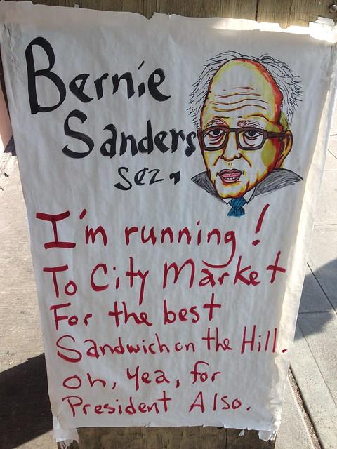 Bernie is Running