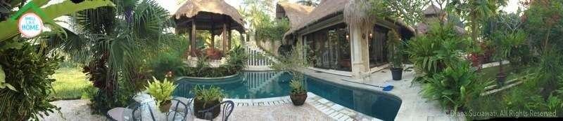 The whole villa
