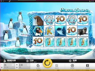 Penguin Splash Slot Machine