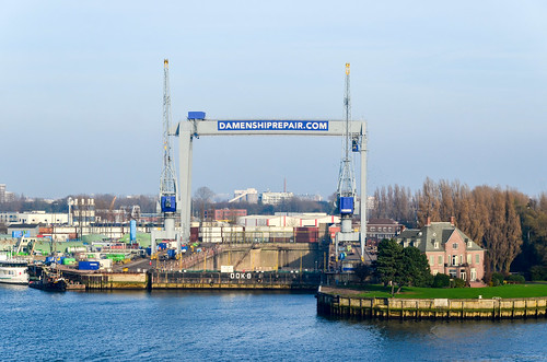 Damen, réparation navale, Rotterdam