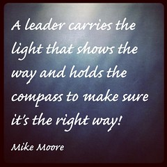 Be that leader!
