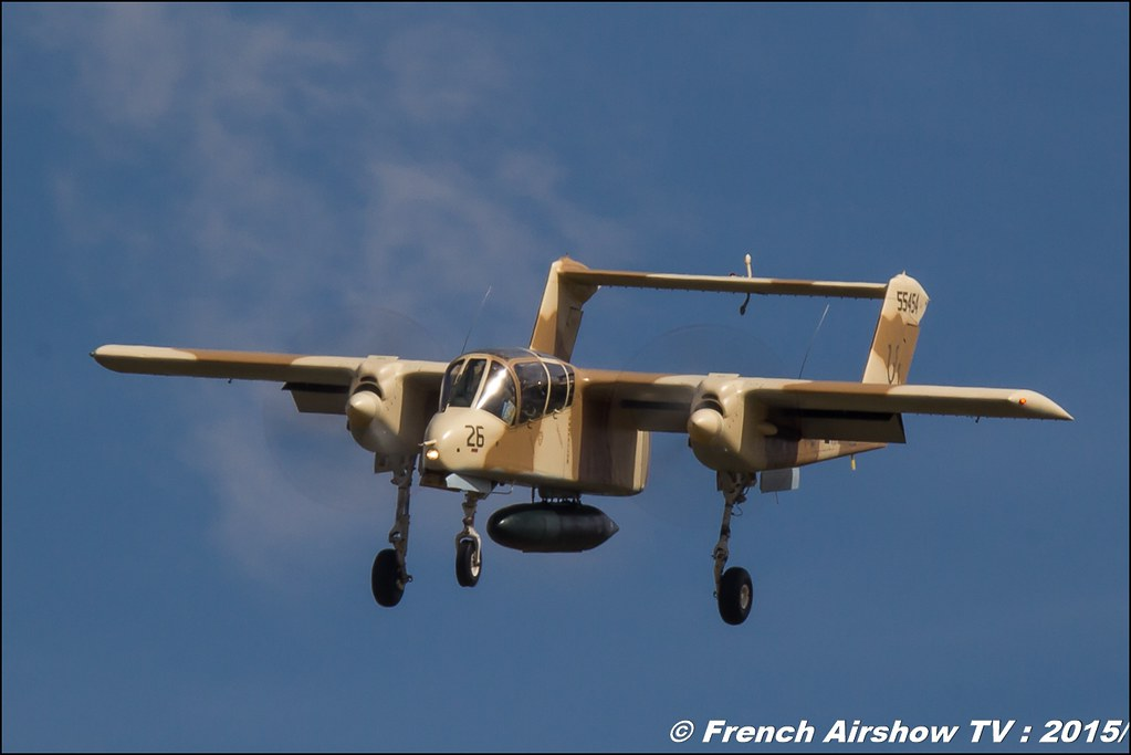 North American OV-10 Bronco, F-AZKM , montelimar, Fly in LFBK 2015 - Fly in Saint Yan 2015, Meeting Aerien 2015