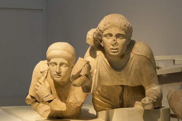 Olympia, Temple of Zeus: The West Pediment – XIV