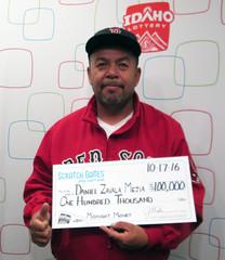 Daniel Zavala Mejia - $100,000 Midnight Money