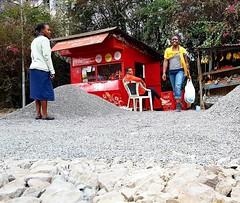 Evolution of a road #roadconstruction #Duka #murram #roadbuilding #roadtosomewhere #EverydayKenya #everydaynairobi #red #RockyRoad #roadwork #road  (c) Marlene C. Francia 2016