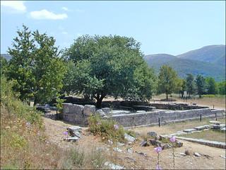 Le lieu de l'Oracle autour du Chêne sacré à Dodone (Grèce)