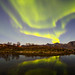 Norway's Northern Lights reflected by MyLifesATrip