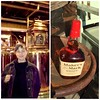 6 years ago L & I toured the @makersmark distillery...so technically, we probably stud our fingers in the mash that made up the bottle we just bought today...