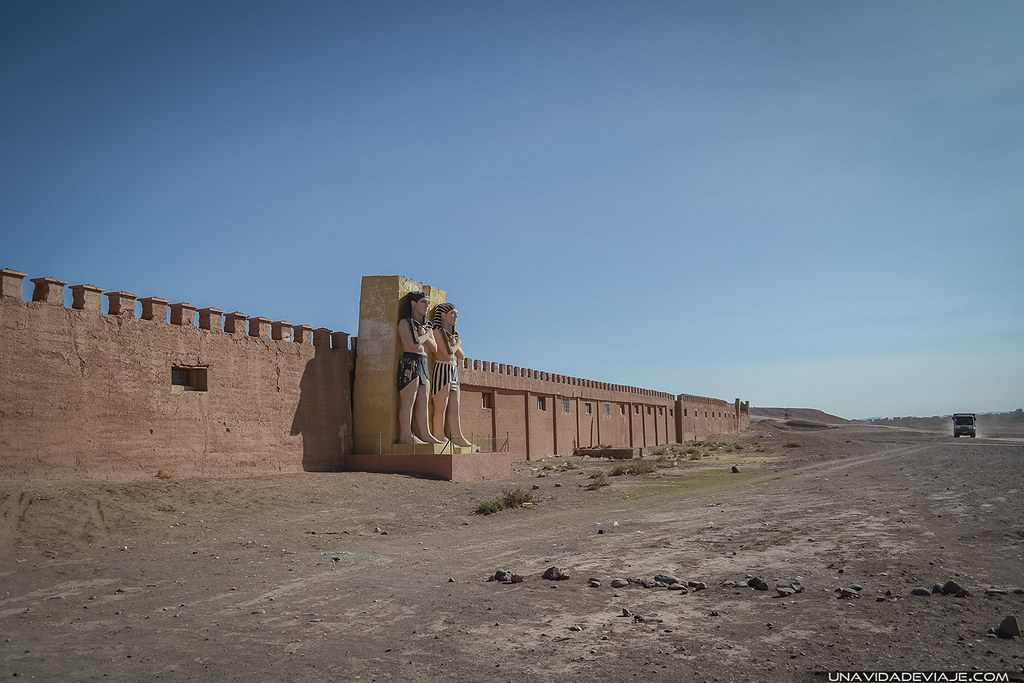 Marruecos Ourzazate cine atlas