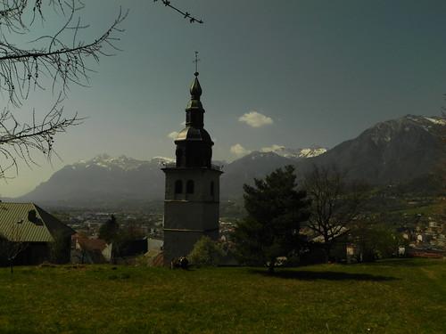 6 Clocher de l'église Saint-Grat de Conflans