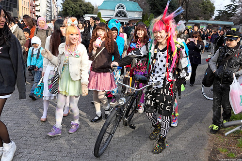 Harajuku Fashion Walk Hanami