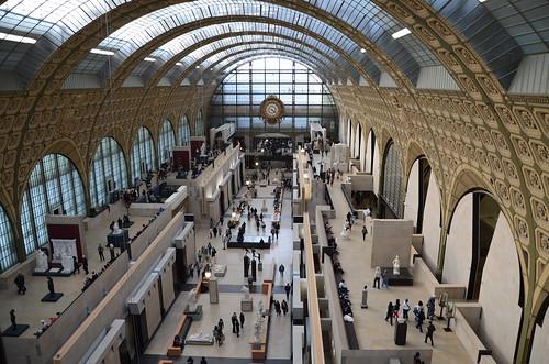 Musee D'Orsay main hall