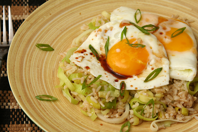 ginger fried rice 9