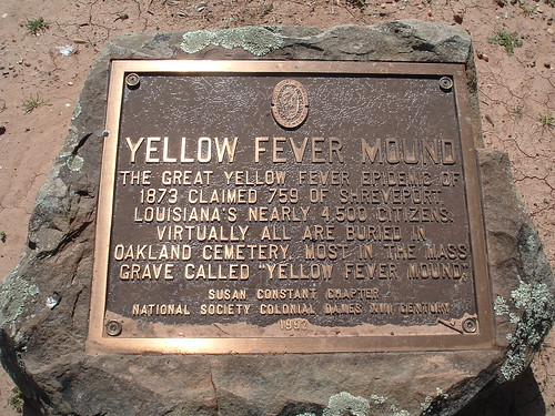 YELLOW FEVER MOUND PLAQUE